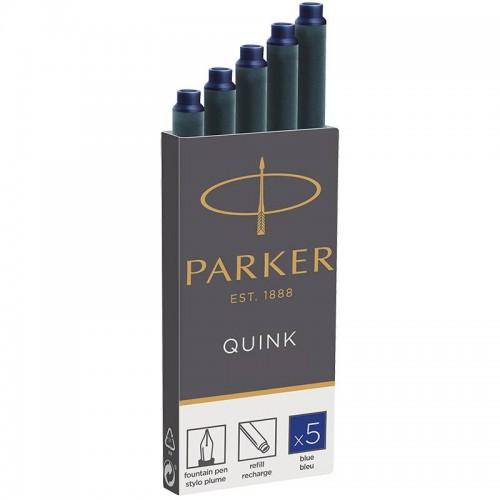 Синие картриджи Parker (Паркер) Quink Cartridges Blue 5шт в Ростове-на-Дону