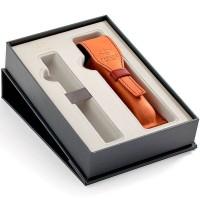 Набор с чехлом Parker из натуральной кожи и местом для ручки
