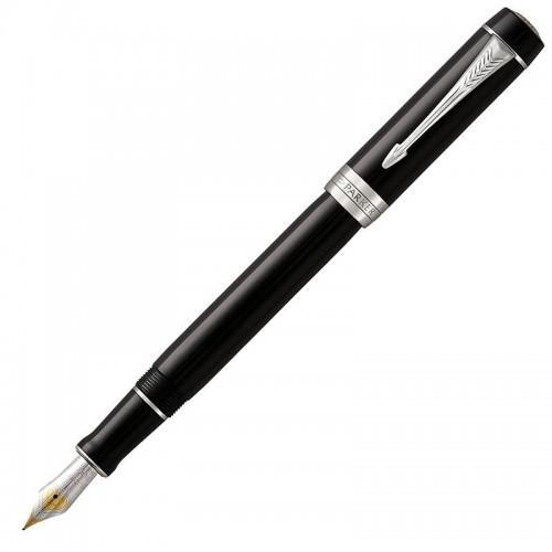 Перьевая ручка Parker (Паркер) Duofold International Classic Black CT F в Ростове-на-Дону