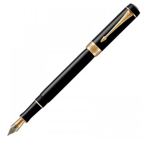 Перьевая ручка Parker (Паркер) Duofold Classic International Black GT F в Ростове-на-Дону