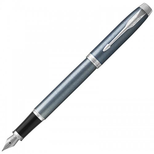 Перьевая ручка Parker (Паркер) IM Core Light Blue Grey CT F в Ростове-на-Дону