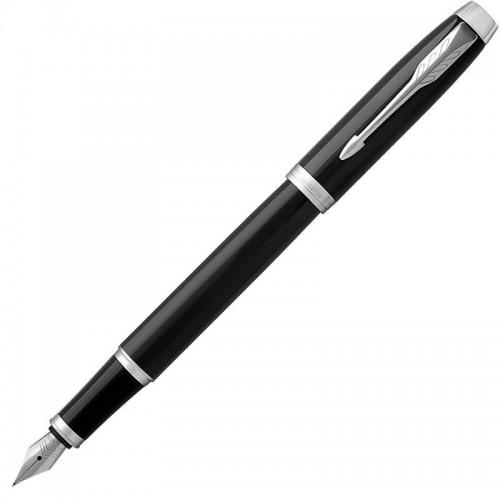 Перьевая ручка Parker (Паркер) IM Core Black Chrome CT F в Ростове-на-Дону