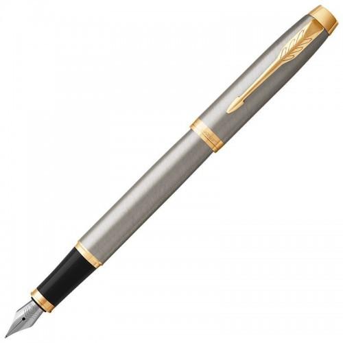 Перьевая ручка Parker (Паркер) IM Core Brushed Metal GT F в Ростове-на-Дону