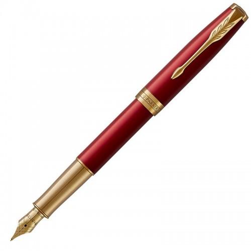 Перьевая ручка Parker (Паркер) Sonnet Core Red Lacquer GT F 18k в Ростове-на-Дону