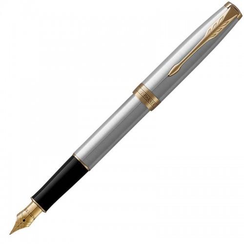 Перьевая ручка Parker (Паркер) Sonnet Core Stainless Steel GT в Ростове-на-Дону