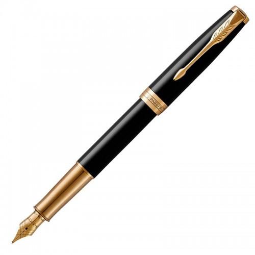 Перьевая ручка Parker (Паркер) Sonnet Core Black Lacquer GT F в Ростове-на-Дону