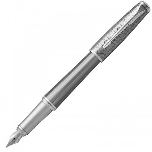 Перьевая ручка Parker (Паркер) Urban Premium Silvered Powder CT F в Ростове-на-Дону
