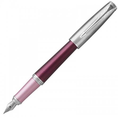 Перьевая ручка Parker (Паркер) Urban Premium Dark Pink CT F в Ростове-на-Дону