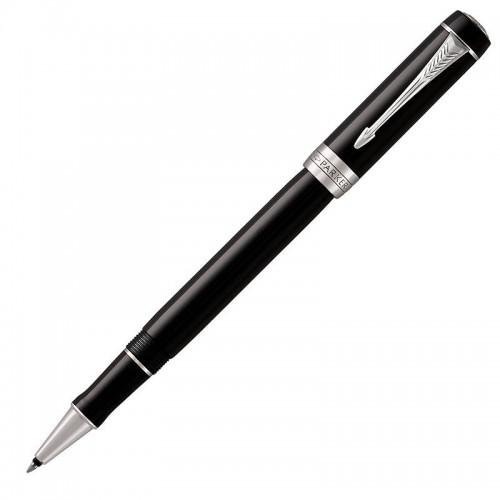 Ручка-роллер Parker (Паркер) Duofold Classic Black CT в Ростове-на-Дону