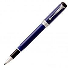 Ручка-роллер Parker (Паркер) Duofold Classic Blue & Black CT