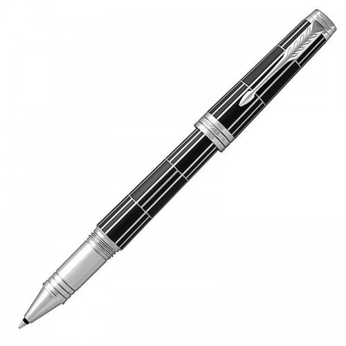 Ручка-роллер Parker (Паркер) Premier Luxury Black CT в Ростове-на-Дону