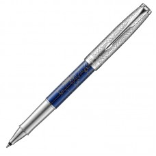 Ручка-роллер Parker (Паркер) Sonnet Special Edition Atlas Silver Blue CT