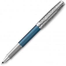 Ручка-роллер Parker (Паркер) Sonnet Premium Metal Blue CT