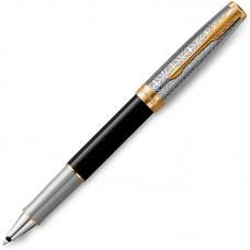 Ручка-роллер Parker (Паркер) Sonnet Premium Metal Black GT