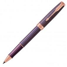 Ручка-роллер Parker (Паркер) Sonnet Luxury Cisele Purple Matrix PGT