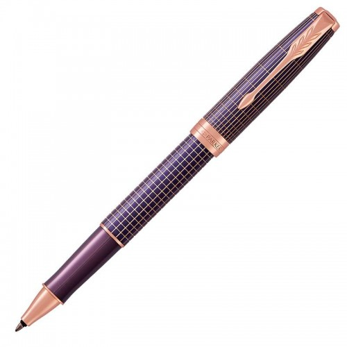 Ручка-роллер Parker (Паркер) Sonnet Luxury Cisele Purple Matrix PGT в Ростове-на-Дону