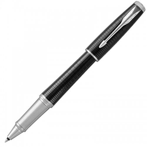 Ручка-роллер Parker (Паркер) Urban Premium Ebony Metal Chiselled CT в Ростове-на-Дону