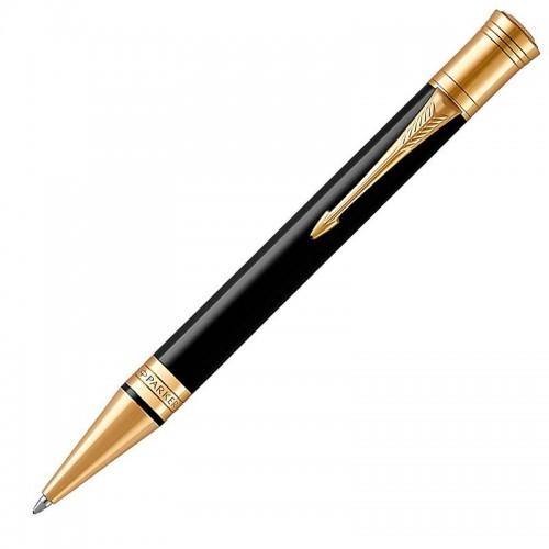 Шариковая ручка Parker (Паркер) Duofold Classic Black GT в Ростове-на-Дону