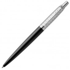 Шариковая ручка Parker (Паркер) Jotter Premium Bond Street Black Grid CT