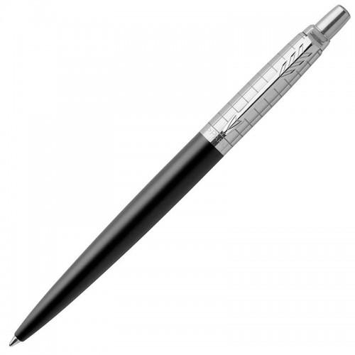 Шариковая ручка Parker (Паркер) Jotter Premium Bond Street Black Grid CT в Ростове-на-Дону