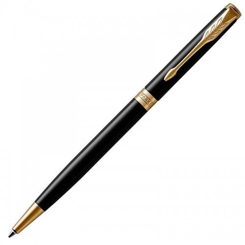 Шариковая ручка Parker (Паркер) Sonnet Core Slim Black Lacquer GT в Ростове-на-Дону