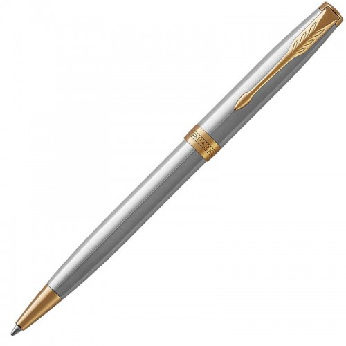Шариковая ручка Parker (Паркер) Sonnet Core Stainless Steel GT в Ростове-на-Дону