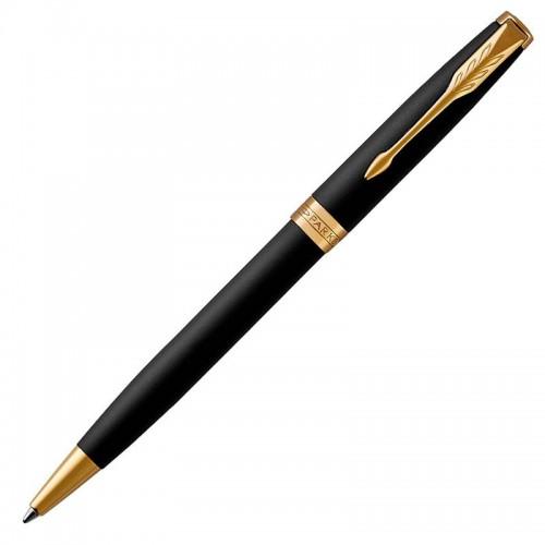 Шариковая ручка Parker (Паркер) Sonnet Core Matte Black Lacquer GT в Ростове-на-Дону