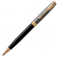 Шариковая ручка Parker (Паркер) Sonnet Premium Black Silver GT
