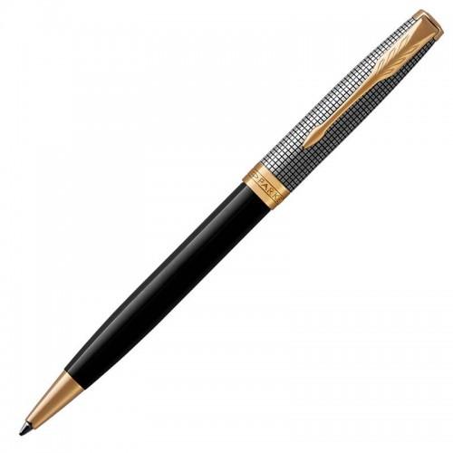 Шариковая ручка Parker (Паркер) Sonnet Premium Black Silver GT в Ростове-на-Дону
