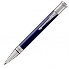Шариковая ручка Parker (Паркер) Duofold Classic Blue & Black CT