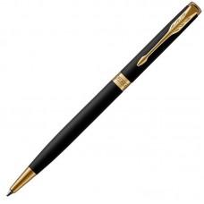 Шариковая ручка Parker (Паркер) Sonnet Core Slim Matte Black Lacquer GT