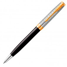 Шариковая ручка Parker (Паркер) Sonnet Premium Metal Black GT