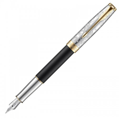 Перьевая ручка Parker (Паркер) Sonnet Special Edition Impression GT F в Ростове-на-Дону