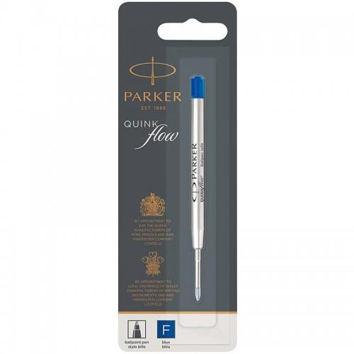 Синий шариковый стержень Parker (Паркер) Ball Pen Refill QuinkFlow Premium F Blue в Ростове-на-Дону