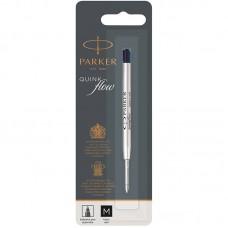 Чёрный шариковый стержень Parker Ball Pen Refill QuinkFlow Premium M Black