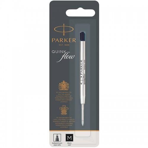 Чёрный шариковый стержень Parker Ball Pen Refill QuinkFlow Premium M Black в Ростове-на-Дону